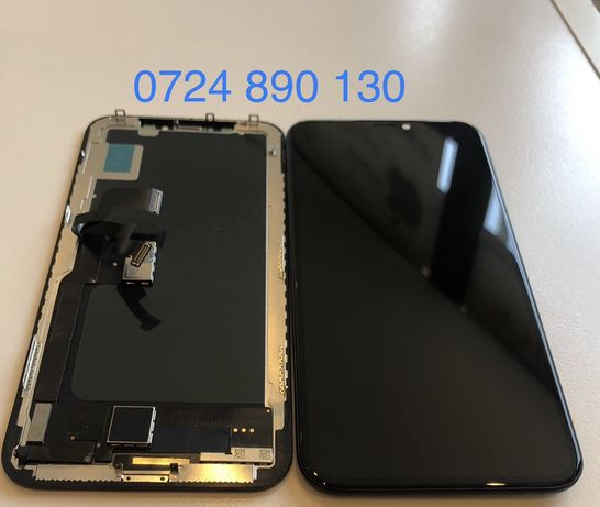 Display Nou iPhone X XS Montaj inclus pe LOC - 12 11 8 7 6 5 s Geam