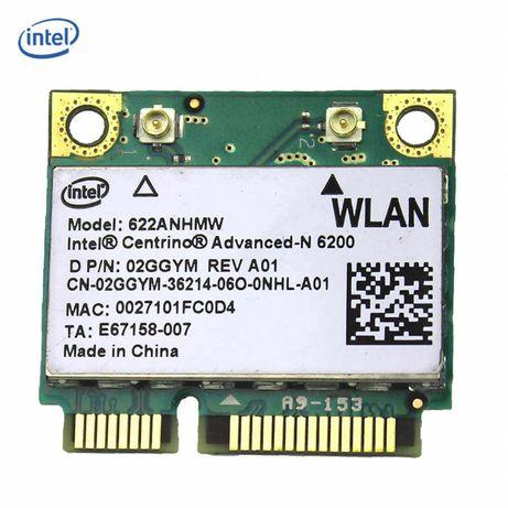Intel Centrino Advanced-N 6200 622ANHMW 6200AGN Mini PCI-E 300Mbps