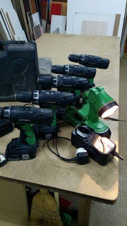 Виноверт Hitachi 18 v. Зарядно. Батерия.. Куфар
