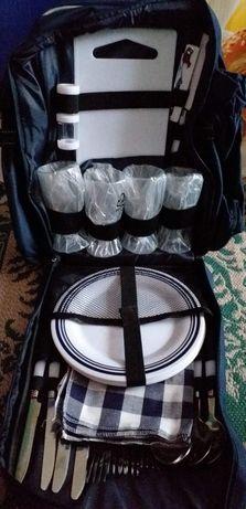 Rucsac picnic complet echipat