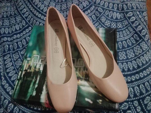 Обувки Тенденз Бежави