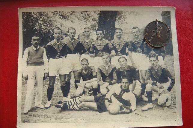 Medalie de bronz romania la fotbal F.R.F.A - Districtul Oradea 1936/37