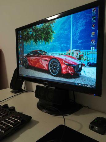 Monitor 24 inch Asus VH242H Full HD 1920 x 1080, HDMI, DVI, VGA, Audio