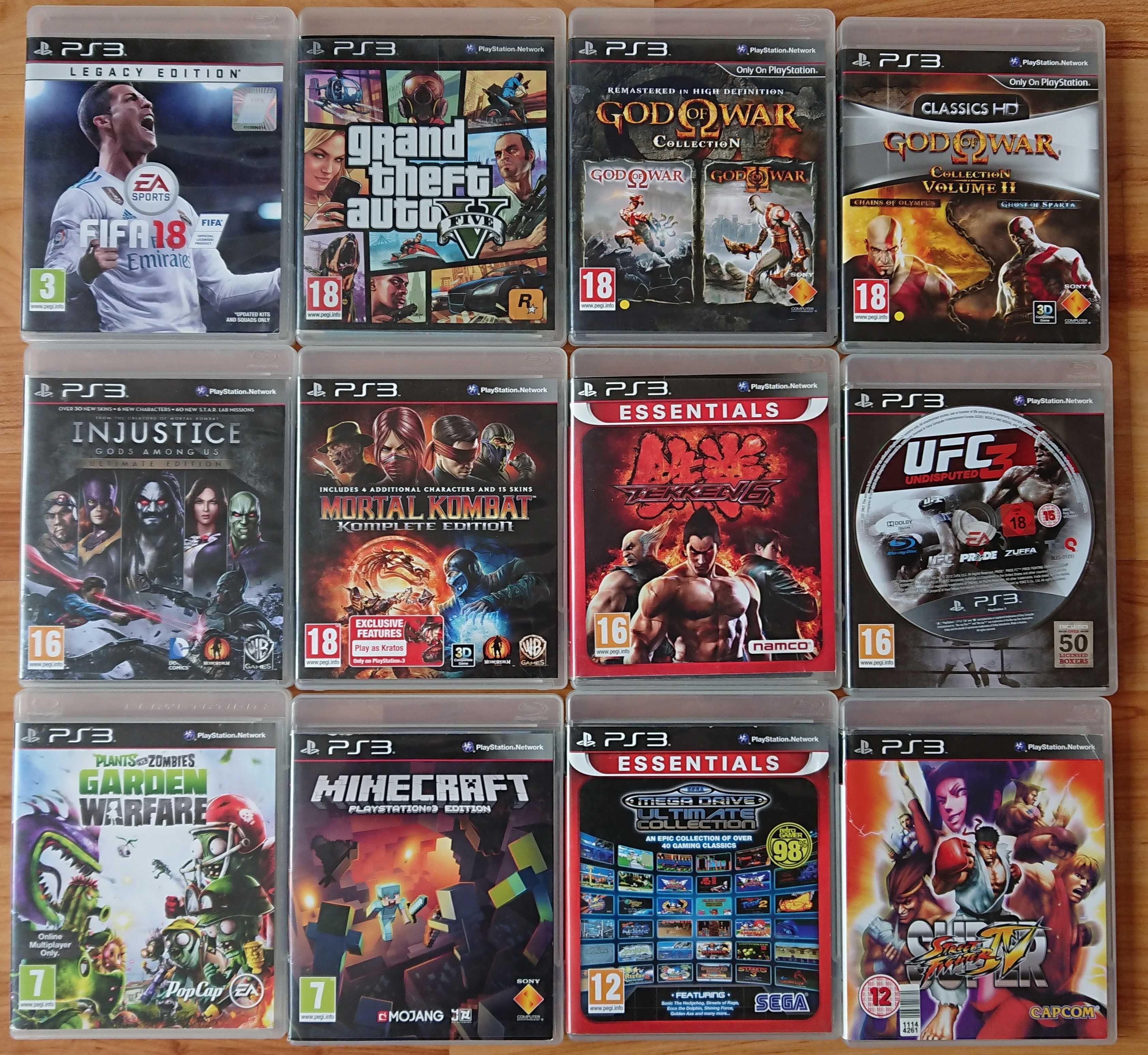 < PS3  FIFA 18 / GTA 5 / MINECRAFT / Tekken / WWE за PlayStation 3