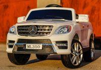 Masinuta electrica pentru copii Mercedes ML350 2x25W 12V NOUA #Alb