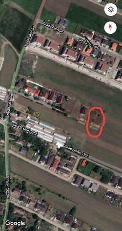 Vând teren intravilan în zona Remetea, strada Dosa Elek, Târgu Mureș