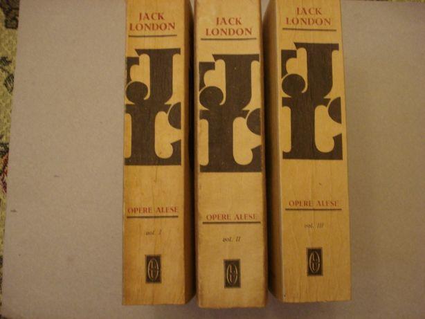 Jack LONDON: Opere alese, Vol. 1+2+3