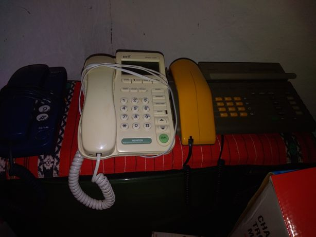 Telefone fixe. 30 lei bucata.