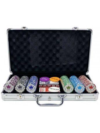 Покерный набор Empire, 300 фишек 11.5 г с номиналом в чемодане