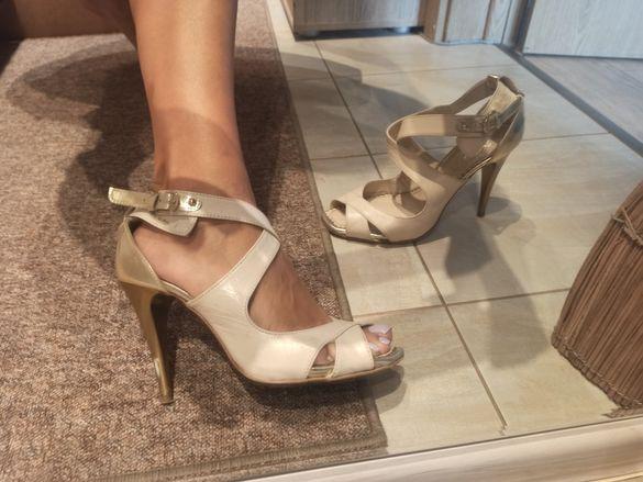 Елегантни сандали на ток, платформа, чизми