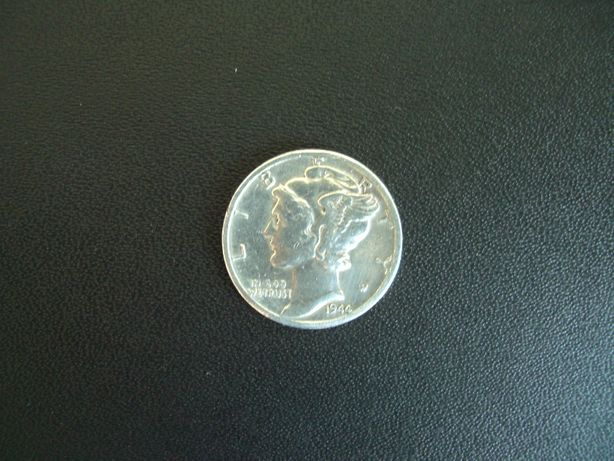 10 cent US 1944 din argint Mercury