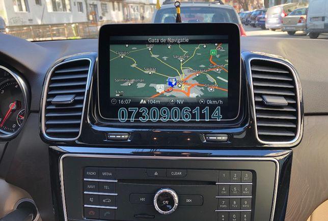 Card SD Mercedes C CLS E V GLC GLK GLE ML Garmin Harti Navigatie 2019
