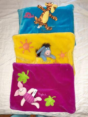 Set Disney Winnie the Pooh, tablou, fețe de pernă, jucarie