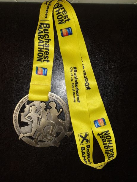 Medalie maraton oct 2019 marathon alergare sport colectie colecrionari