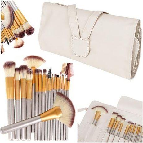 Set 18 pensule de machiaj, cosmetica, make-up profesional
