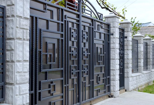 Gard cu model de Piatra,Gard Prefabricat din Beton