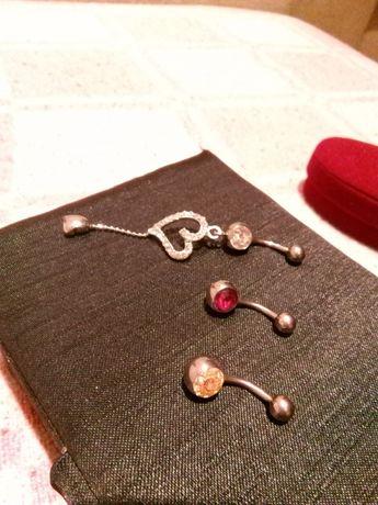 Piercing buric (3 modele)