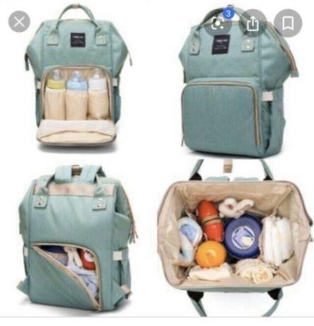 Стильный Сумка рюкзак для современных мам