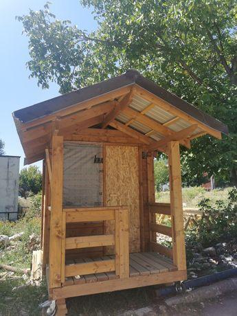 Oferta!Căsuța 3x3 lemn