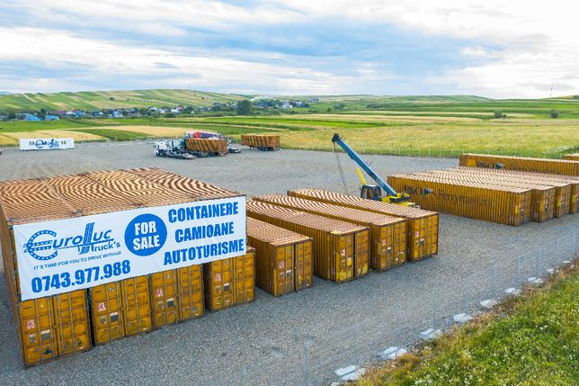Container maritim 45 HC Birou, Depozit, Casa, Organizare santier