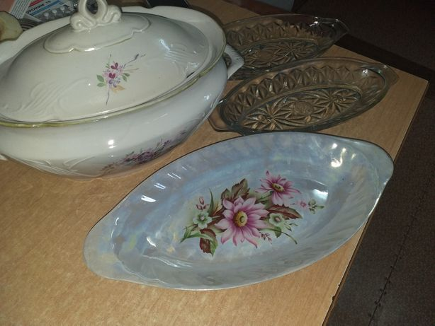 Посуда разнообразная