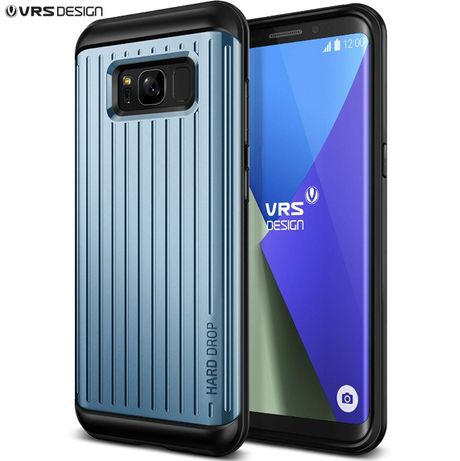 Husa Samsung Galaxy S8+ Plus - VRS DESIGN Thor Waved Blue Coral