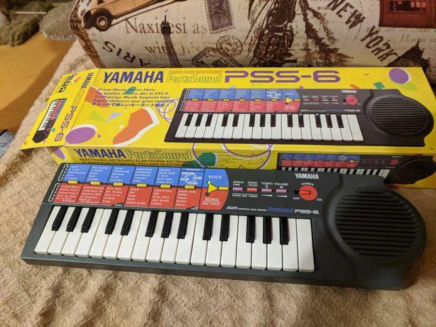 Электронная клавиатура Yamaha PSS 6