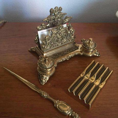 Călimara /Set birou in bronz