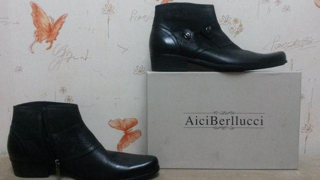 ботинки осенние (кожа)