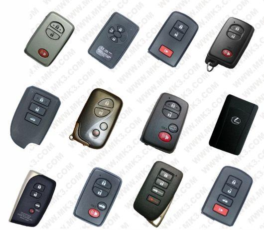 Отключване на втора употреба Toyota,Lexus Smart ключове 40,80,128 bits