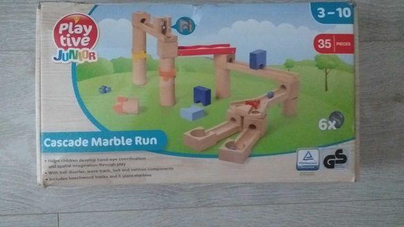 Детски дървен конструктор  за малки деца-30лв.