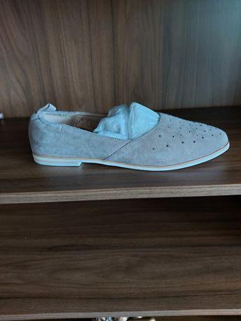 Женские замшевые балетки икрасивые замшевые туфли.