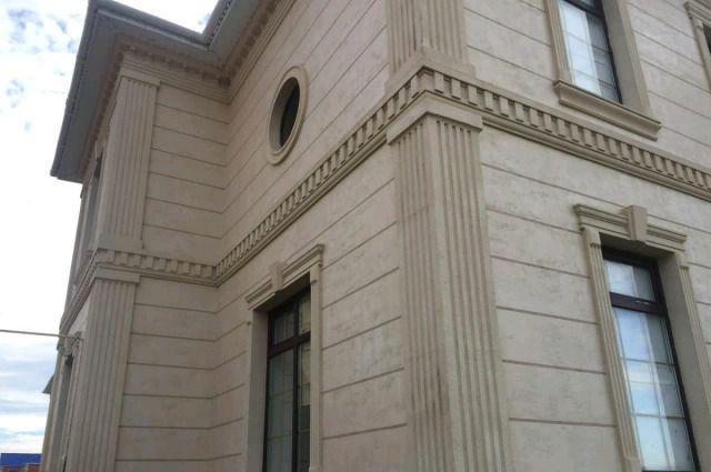 Термопанели. Фасад и декор из пенопласта. Обрамление окон.