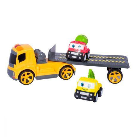Masinuta transportor cu 2 vehicule, nou