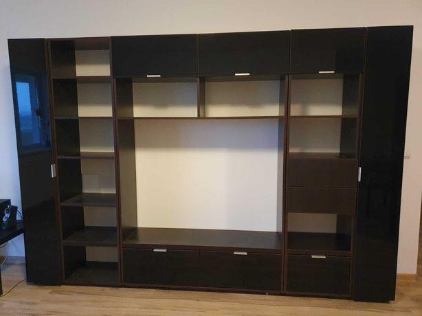 Biblioteca PAL/MDF wenge modulara