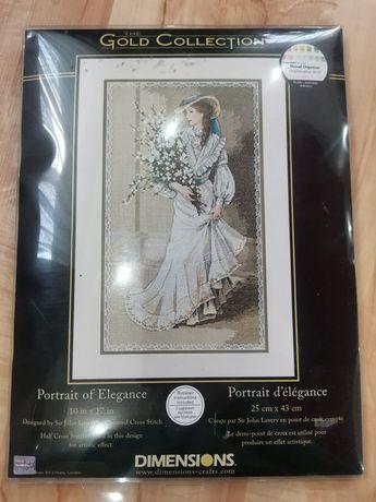 Набор вышивки Dimensions 03767  Элегантный портрет