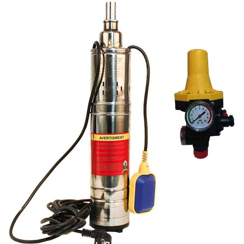 Pompa submersibila MF QGD3 1100W 120m cu flotor + PRESCONTROL