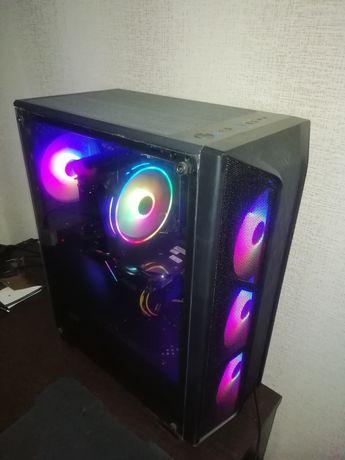 Игравой ПК. AMD Ryzen 5 2600, ASUS GeForce GTX 1660 Dual