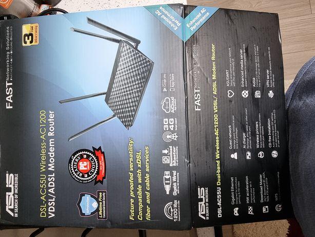 Router DSL-AC55U Wireles Asus AC 1200 Gb
