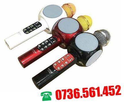 Microfon karaoke Disco LED boxe 12 W