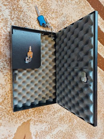 Cutie / caseta metalica pentru pastrare pistol