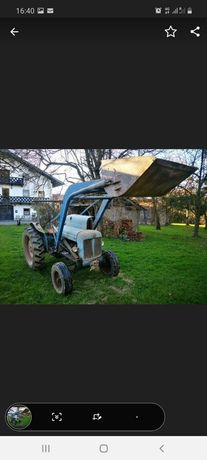 Brațe și cupa pt tractor Fordson