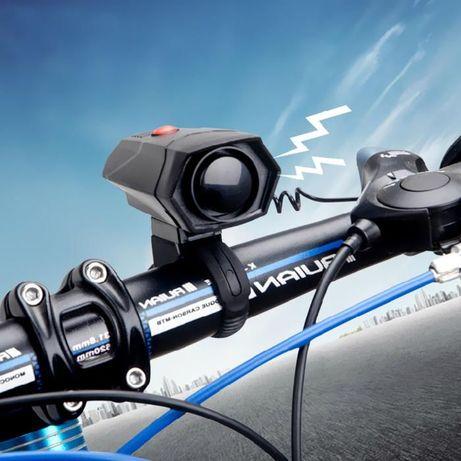 Електронна вело тромба звънец сирена за сигнализация с 5 сигнала 120db