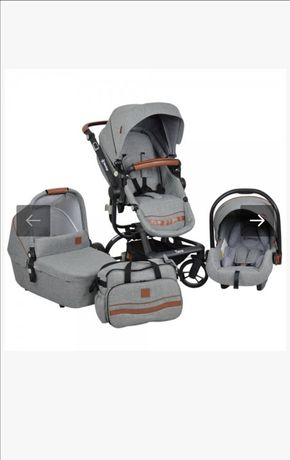 Бебешка количка 3в1 Bebe Stars Torro