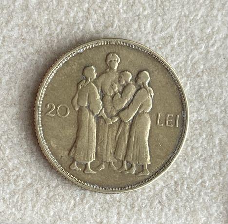 Vand moneda 20 lei 1930