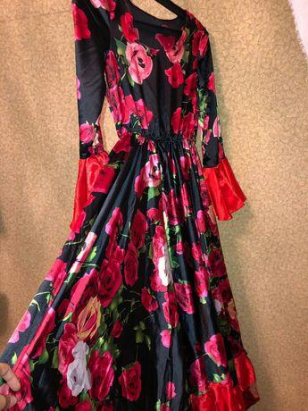 Цыганское испанское платье