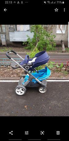 Продам коляску Stokke crusi для погодок, sibling seat