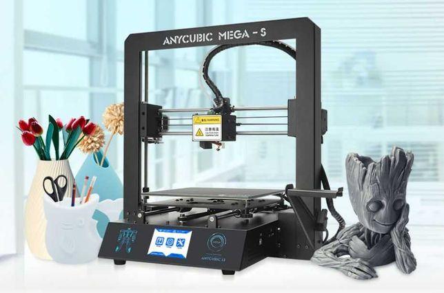 Продам 3D принтер Anycubic Mega-S