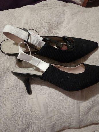 Змийски летни боти с ток ,сабо, елегантни обувки с ток