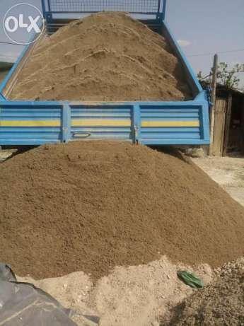 Aduc Nisip - Sort - Balast-Piatra Concasata-Pamant vegetal-Ridic moloz